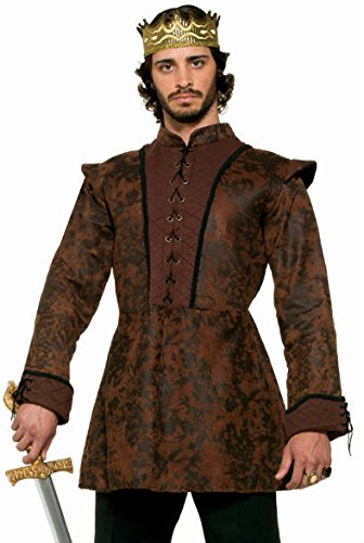 Kings Coat Mens Costume deluxe