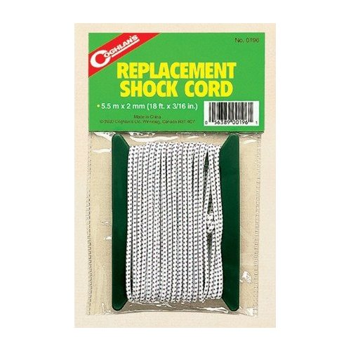 Coghlans Replacement Shock Cord for Tents - Coghlans 0196 18 ft x 3 32 inchB0000E0RGP