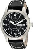 Invicta Men's 11184 Specialty Black Leather Watch