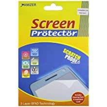 Amzer AMZ90493 Super Clear Screen Protector With Cleaning Cloth For Motorola XOOM