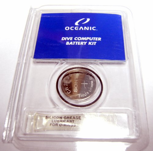 New Oceanic Battery Kit for the Atom, Atom 2.0, Atom 3.0, Atom 3.1, GEO & GEO 2.0 Scuba Diving Computer Watch