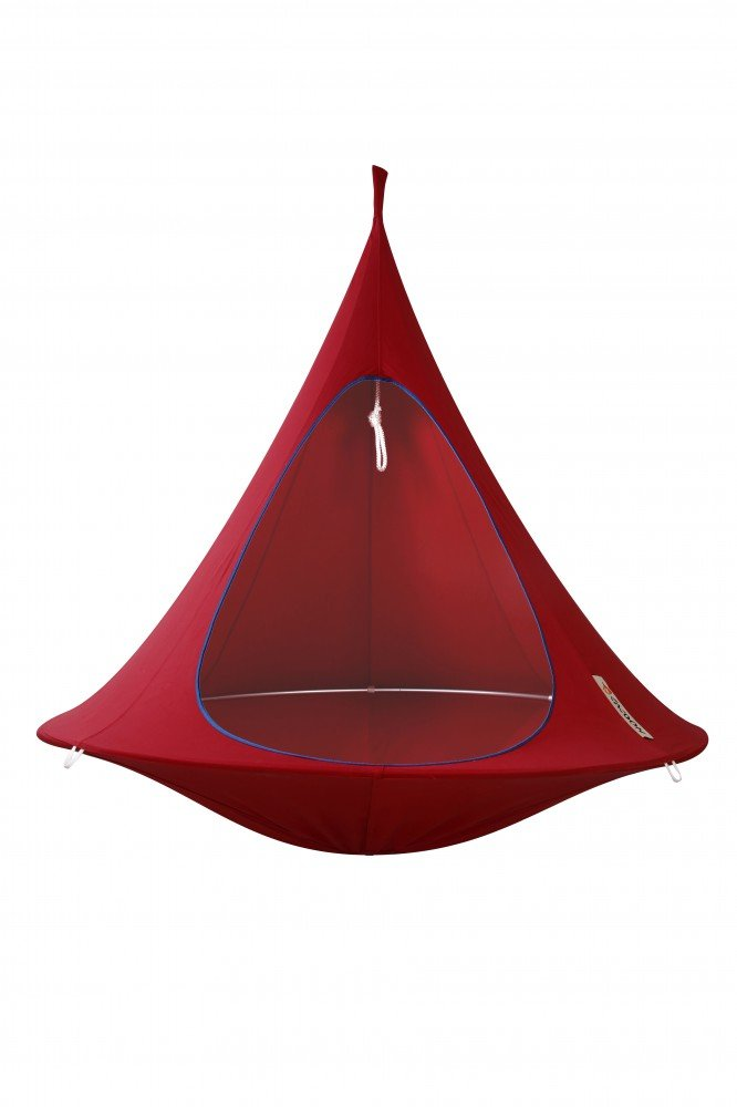 Cacoon - Double Hängehöhle Wellness-Oase chili red bis 200kg