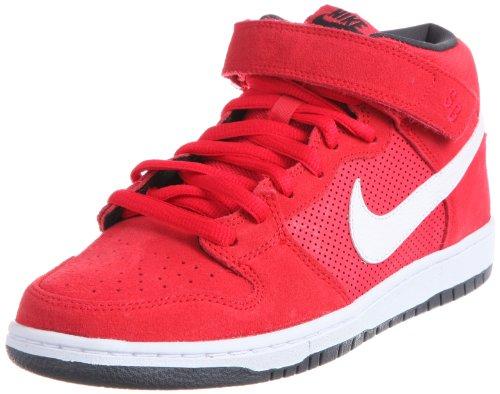 Nike Men'S Dunk Mid Pro Sb Hyper Red/White/Anthracite Skate Shoe 10.5 Men Us