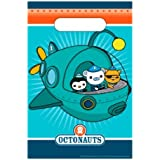 Amscan International Octonauts Lootbag (Pack of 8)