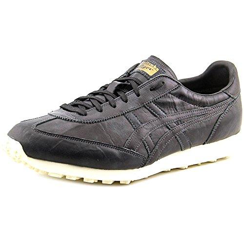Onitsuka Tiger EDR 78 Classic Running Shoe, Black/Black, 9 M US