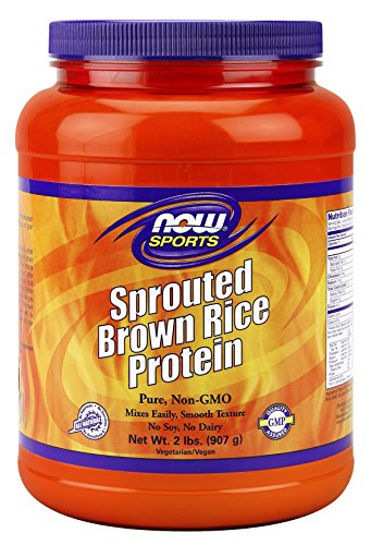 Now Foods Sprouted Brown Rice Protein 2Lbs