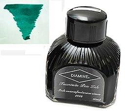 Diamine Refills Dark Green Bottled Ink 80mL - DM-7022