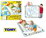 TOMY Aquadoodle Classic Age 18m+ (The no mess, drawing with water creative toy. Good clean fun - no ink, no brushes, no paint to run! Aquadoodle Classic is great for encouraging kids to take their first creative steps and because the pen is only filled w
