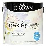 Crown Breatheasy Emulsion Paint - Matt - French Pastry - 2.5L