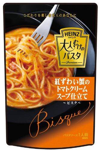 ハインツ 大人むけのパスタ紅ずわい蟹のトマトクリーム仕立て 200g×4袋
