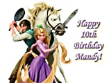 Single Source Party Supplies - Disney Tangled Cake Edible Icing Image #7 - 8.0 x - 10.5 Rectangular
