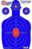 50% OFF SALE! Highest Quality Silhouette Targets for Shooting at the Lowest Price. Easily See Your Shots Land with These High-Visibility, Heavy-Duty, Bright Blue Shooting Range Targets! These Paper Silhouette Target Sheets Are Used and Recommended By Law Enforcement Officers Nationwide.