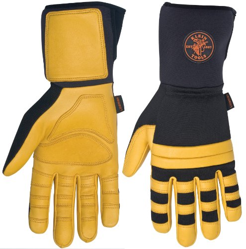Klein Tools 40084 Lineman Work Gloves, X-Large