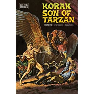 Dark Horse udgiver Russ Manning's Korak, Son of Tarzan til maj 2013