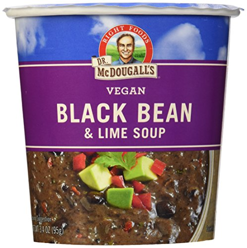 Dr. McDougall's Black Bean & Lime Big Soup Cup - 3.4 oz