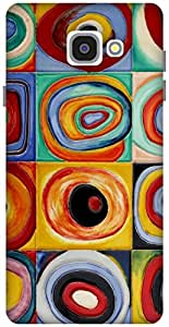 The Racoon Grip Circles - Kandinsky hard plastic printed back case / cover for Samsung Galaxy A7(2016)