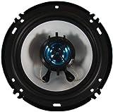 Naxa NX-774 800 Watt Pair 6.5 Inch 2-Way Coaxial Car Stereo Speakers