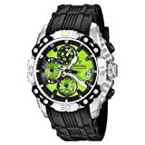 Festina Men's Bike 2011 Chronograph Watch F16543/8 with Rubber Strap and Green Dial