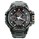 Fashion Sport Watch Multifunction Multi-LED Dual Time Led Light Analog Digital Waterproof Alarm Shock Boys Men Wristwatch With Gift Package (Black)