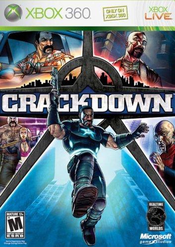 XB360 CRACKDOWN (BL)