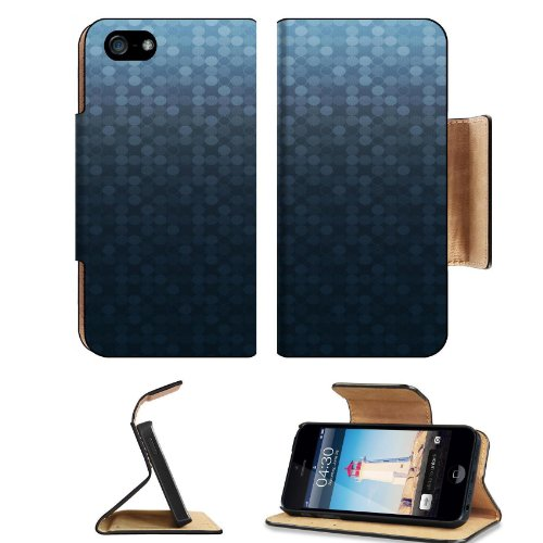 Pattern Polka Dot Pattern Apple Iphone 5 Flip Cover Case With Card Holder Customized Made To Order Support Ready Premium Deluxe Pu Leather 5 3/16 Inch (132Mm) X 2 11/16 Inch (68Mm) X 9/16 Inch (14Mm) Liil Iphone 5 Professional Cases Touch Id Gold Spec Acc front-300681