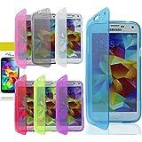 easyDigital® PURPLE WALLET FLIP TPU SILICONE GEL CASE COVER FOR SAMSUNG GALAXY S6 & SCREEN PROTECTOR (Galaxy S6 Wallet Gel, Purple)