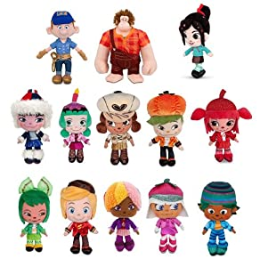 Ralph, Fix-it Felix Jr, Vanellope, 10 Sugar Rush Racers: Toys & Games