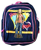 Small Size Denim Peace Barbie Kids Backpack