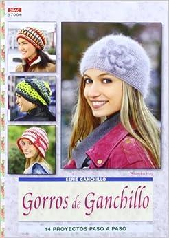 Gorros de ganchillo / Crochet Hats: 14 proyectos paso a paso / 14 Step