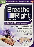 Breathe Right Strips Nasal Strips, Lavender, 26 Count