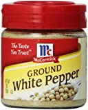 Mccormick White Pepper, Ground, 1-Ounce