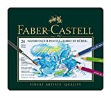 Faber-Castel FC117524 Albrecht Durer Artist Watercolor Pencils In A Tin (24 Pack), Assorted (Office Product)