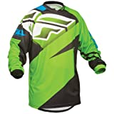 367-925YL - Fly Racing 2014 Youth F-16 Motocross Jersey L Green/Black