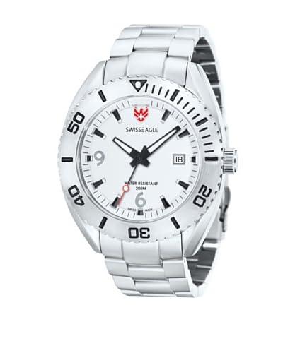 Swiss Eagle Reloj Dive Plateado