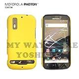 MOTOROLA PHOTON™ ISW11M ハードケース (au by KDDI)【Yellow(黄色)】NEW MODEL