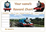 PERSONALISED THOMAS THE TANK ENGINE REWARD / POTTY TRAINING CHART