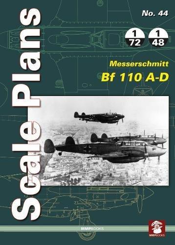 Messerschmitt Bf 110 A-D (Scale Plans) [Noszczak, Maciej] (Tapa Blanda)