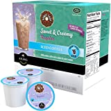 Iced Coffee with the Original Donut Shop Sweet & Creamy Regular K-cups, 16 Count, 2 Pack