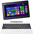 ASUS Transformer Book T100TA-C1-WH(S) 10.1 Detachable 2-in-1 Touchscreen Laptop, 64GB (White)