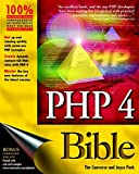 img - for PHP 4 Bible book / textbook / text book
