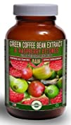 Green Coffee Bean Extract (800mg) combined with Raspberry Ketones (100mg) | MAX 50% Chlrogenic…