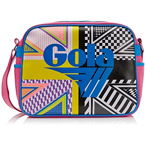 Gola Unisex-Adult Redford Acid Union Jack Messenger Bag