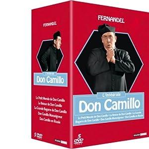[MULTI] Coffret Don Camillo, l'Intégrale - Coffret 5 DVD (Le petit monde de Don Camillo - le retour de Don Camillo - la grande bagarre de Don Camillo