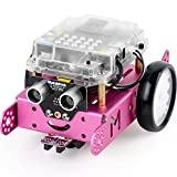 Makeblock DIY mBot 1.1 Kit (2.4 G Version) - STEM Education - Arduino - Scratch 2.0 - Programmable Robot Kit for Kids to Learn Coding & Robotics - Pink