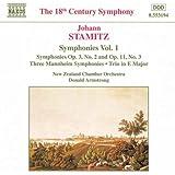 Stamitz - Symphonies, Volume 1