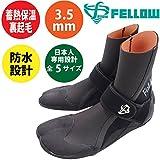 サーフブーツ サーフィン FELLOW ALL3.5mm 保温起毛素材 サーフィン グッズ SUP 日本規格 ウェットスーツ サーフブーツ メンズ サーフブーツ レディース