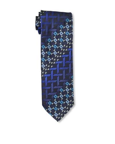 Missoni Men's Basket and Diamonds Tie, Blue