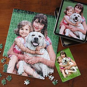 Cheap PersonalizationMall.com Personalized Photo Jigsaw Puzzle with Keepsake Tin – Vertical (B002JJATII)