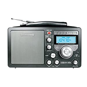 Grundig S350 Deluxe AM/FM/Shortwave Radio, Black