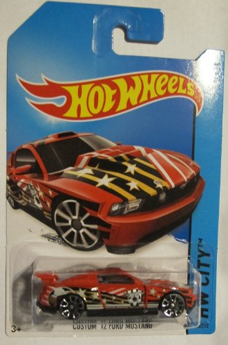 Hot Wheels - HW City 18/250 - Custom '12 Ford Mustang